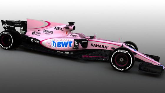 O Hulk τρολάρει την Force India (pic)