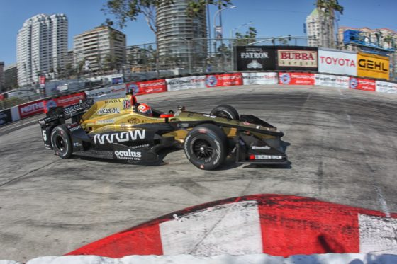 Indycar: Highlights από το Long Beach (vid)