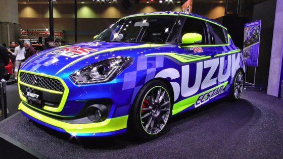 Suzuki Swift κατευθείαν για πίστα (pics)