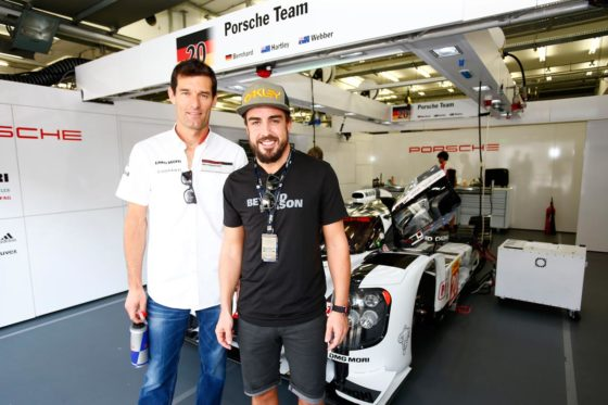 Webber: «Δεν βιάζεται ο Alonso για το Le Mans»