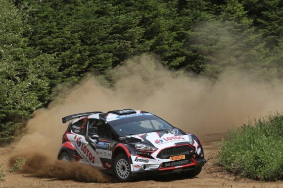 Rally Ακρόπολις 2017 2η μέρα: Μεγάλος νικητής o Kajetanowicz