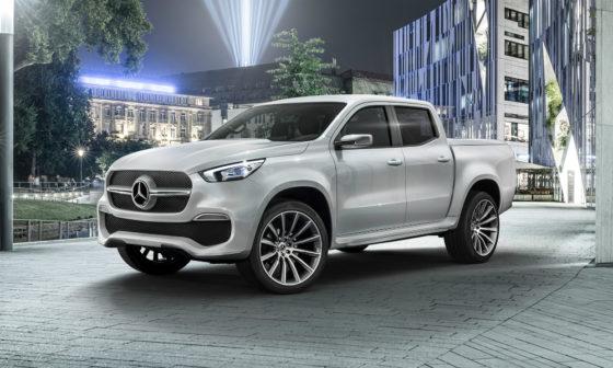 Πρώτο βίντεο για το pick up της Mercedes (vid)