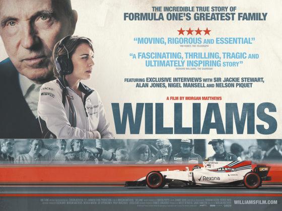 Πρώτο τρέιλερ για την ταινία της Williams F1 (vid)