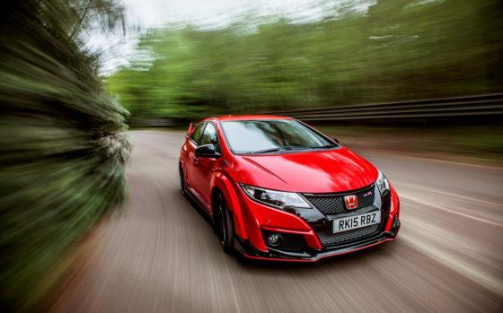 Δες τo Honda Civic Type-R να επιταχύνει σαν τρελό (vid)