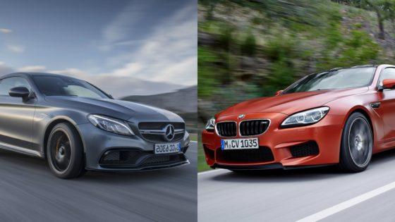 H απόλυτη μάχη ταχύτητας μεταξύ Mercedes και BMW (vid)