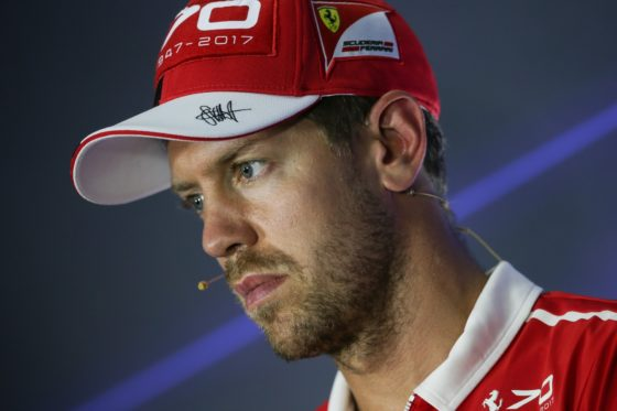 O Vettel δηλώνει πως η Ferrari δεν έχει δώσει team orders