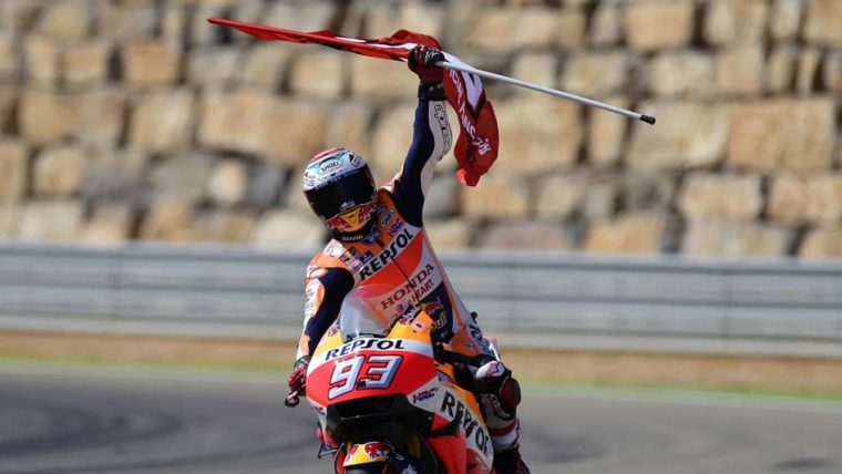 Πάει για τη νίκη στην Aragon o Marquez