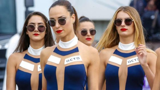 Tα κορίτσια του MotoGP ξεσήκωσαν το Silverstone (pics+vid)