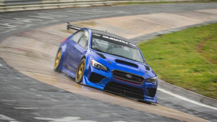 Δες το Subaru WRX STi να σπάει τα χρονόμετρα στο Ring (vid)