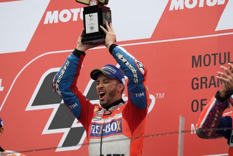 Dovizioso: «Η νίκη είναι καλύτερη από την Αυστρία»