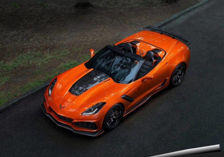 Ιδού η νέα Chevrolet Corvette ZR1 Convertible