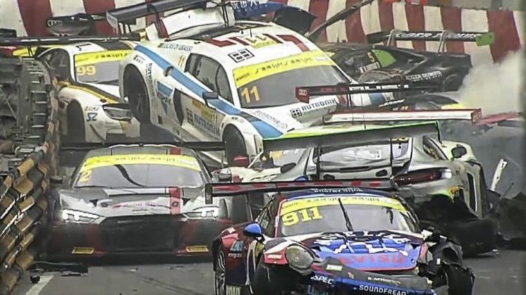 Το πιο ακριβό ατύχημα στο 2017 έγινε στο Macau (vid)