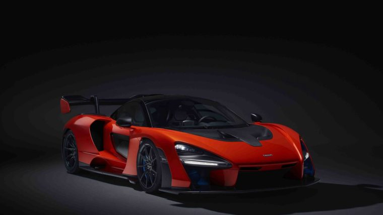 To νέο υπερόπλο της McLaren προς τιμήν του Ayrton Senna (pics+vid)
