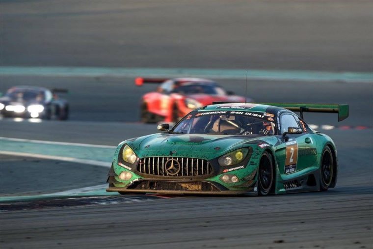 24H Dubai: Black Falcon Mercedes dominates the first big event of the year