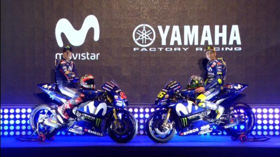 H Yamaha αποκάλυψε την YZR-M1 του 2018