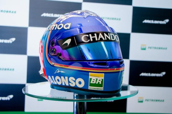 To νέο κράνος του Alonso είναι ότι πιο ωραίο θα δεις σήμερα (pics)