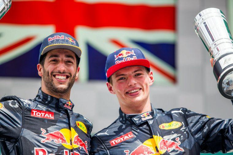Τα νέα κράνη των Ricciardo και Verstappen (vid)