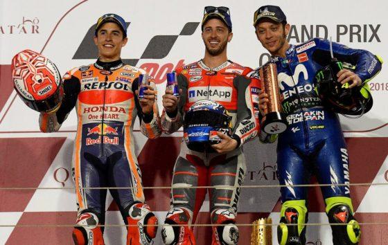 Χαρούμενος με την 2η θέση ο Marquez