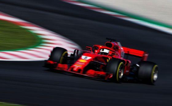Δοκιμές Βαρκελώνης D5: O Vettel ξεκίνησε δυναμικά το δεύτερο τεστ