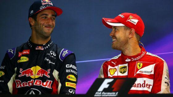 Θα ήθελε τον Ricciardo για teammate o Vettel