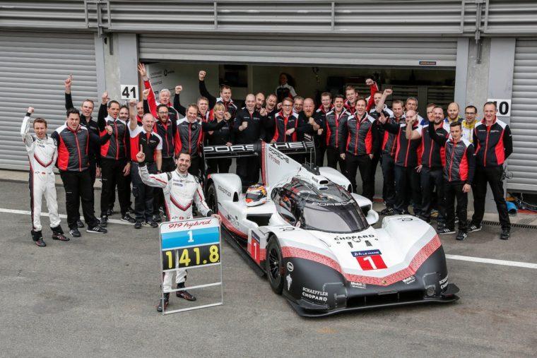 Η Porsche έσπασε το ρεκόρ πίστας του Hamilton στο Spa με την 919 Hybrid Evo