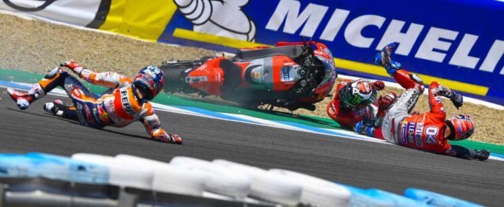 Ο Dovizioso ρίχνει την ευθύνη στους Pedrosa και Lorenzo