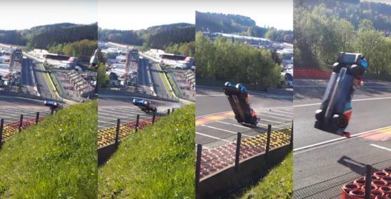 To τρομακτικό ατύχημα του Isaakyan στις 6H του Spa (vid)
