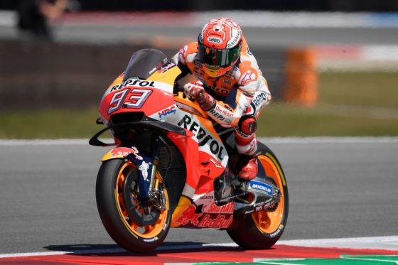 GP Ολλανδίας QP: Marquez στα χιλιοστά