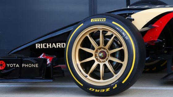 Η F1 πιέζει για ζάντες 18 ιντσών από το 2021