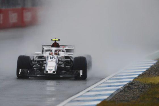 GP Γερμανίας FP3:1-2 για την Sauber στη βροχή