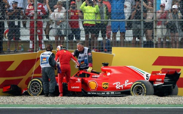 Vettel: «Έκανα λάθος αλλά δεν θα χάσω και τον ύπνο μου»