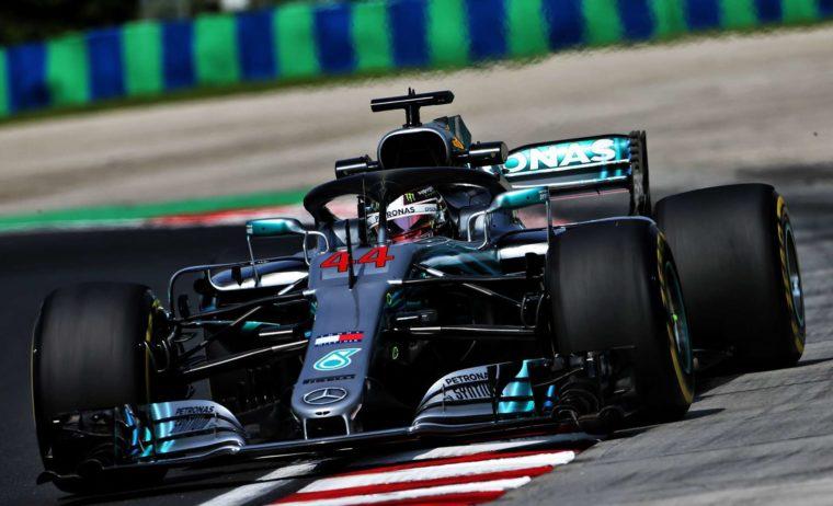 GP Ουγγαρίας QP: Βασιλιάς στη βροχή ο Hamilton στην 77η του pole position