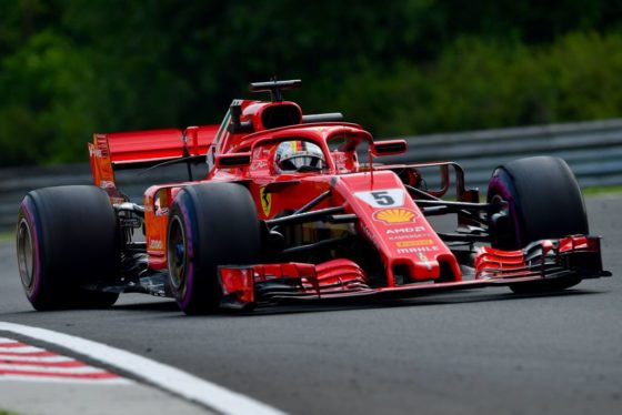 GP Βελγίου FP1: Vettel και Ferrari ταχύτεροι και ο Verstappen ακολουθεί