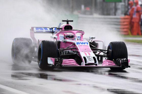 GP Ιταλίας FP1: Ταχύτερος ο Perez στη βροχερή Monza