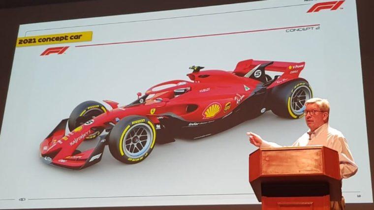 Αυτός είναι ο μελλοντικός σχεδιασμός των μονοθεσίων της F1