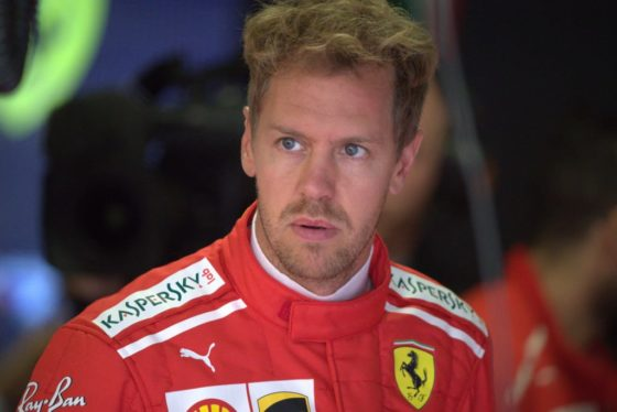 Vettel apologizes to the Tifosi after a disappointing Monza result