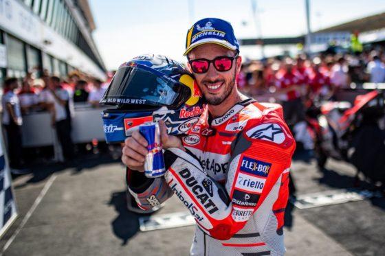 Dovizioso: «Ούρλιαζα μετά το τέλος του αγώνα»