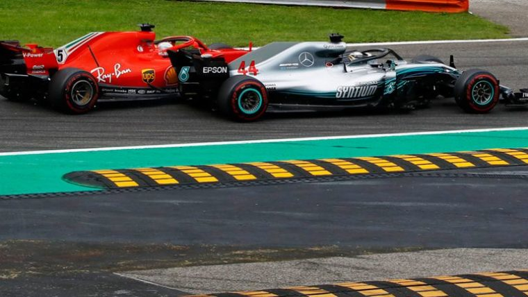 Vettel: «Ο Lewis δεν μου άφησε χώρο»