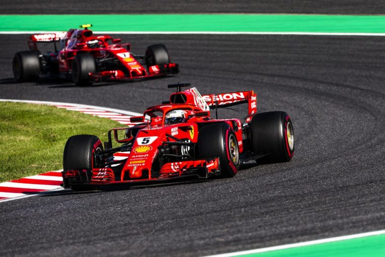 GP Η.Π.Α. FP3: 1-2 η Ferrari σε στεγνές συνθήκες