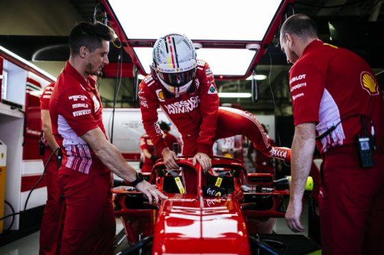 Vettel: «Δεν υπάρχει πρόσφυση, τα ελαστικά δεν λειτουργούν σωστά»