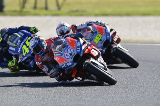 Μεγάλη η βελτίωση της Ducati σύμφωνα με τον Dovizioso