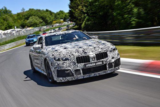 Δοκιμές στο Ring για τη κορυφαία έκδοση της BMW M8