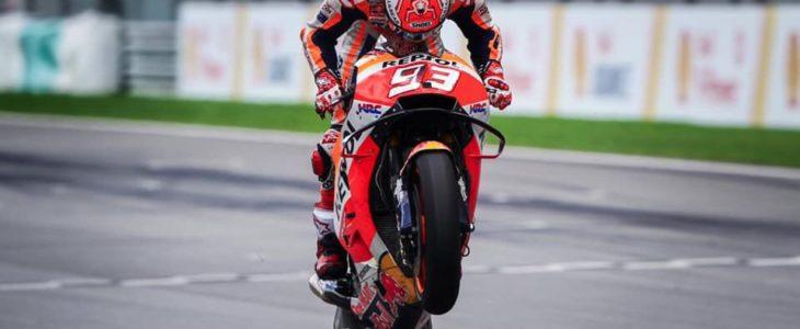 Marquez: «Οδηγούσα ενστικτωδώς και πίεζα στο όριο χωρίς να σκέφτομαι»