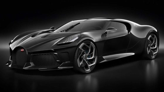 To πιο ακριβό αυτοκίνητο στην ιστορία είναι η νέα Bugatti La Voiture Noire