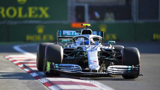 GP Αζερμπαϊτζάν Race: Θρίαμβος Bottas και τέταρτο σερί 1-2 της Mercedes