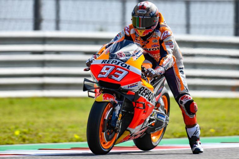 GP Η.Π.Α. QP: Marquez στη pole δίχως αντίπαλο