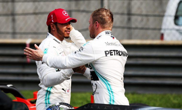 Hamilton: «Περήφανος με την απόδοση μου, άξιζε τη pole o Valtteri»