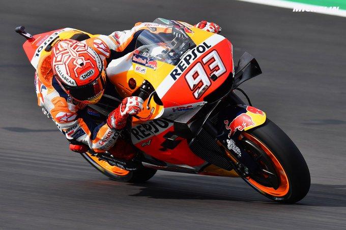GP Μ. Βρετανίας FP1&2: Στη κορυφή ο Marquez και οι υπόλοιποι ακολουθούν