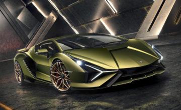 H Lamborghini Sián είναι ένα hypercar από άλλο πλανήτη (video)