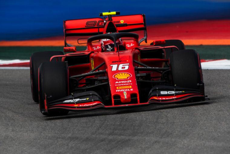 GP Ρωσίας QP: Τέταρτη σερί pole για Leclerc και Ferrari
